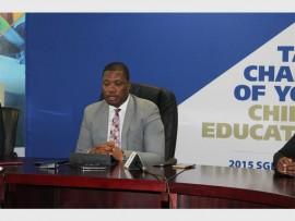 Gauteng Department of Education's (GDE) MEC Phanyaza Lesufi prioritises pupil discipline. Photo: File