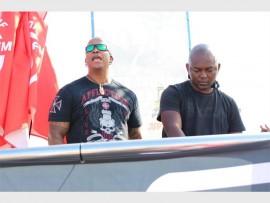 Oh Ship organisers, Thato 'DJ Fresh' Sikwane and Themba 'DJ Euphonik' Nkosi.