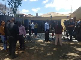 Media-waiting-outside-the-Rosebank-Police-Station.
