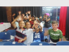 Lonehill Preparatory boys get ready to be the stars of the evening