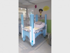 The new Symba bed that is changing the future of medical comfort. Designed by Jed Aylmer and his team of engineers for the Nelson Mandela Children's Hospital.