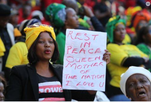 Winnie Mandela laid to rest in Soweto