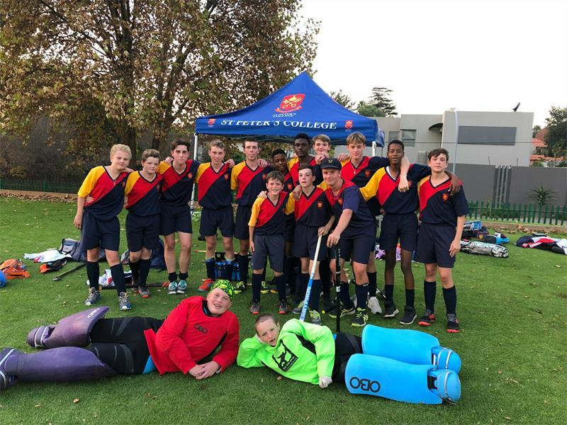 St Peter S College Hockey Teams Give Their All In Aitken And Boden