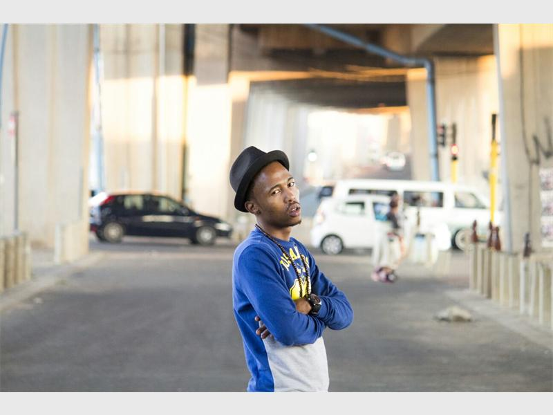MAKING IT BIG: Thabiso Mkhize, whose stage name is Thabzero, is currently working on the launch of his EP, The First Token.