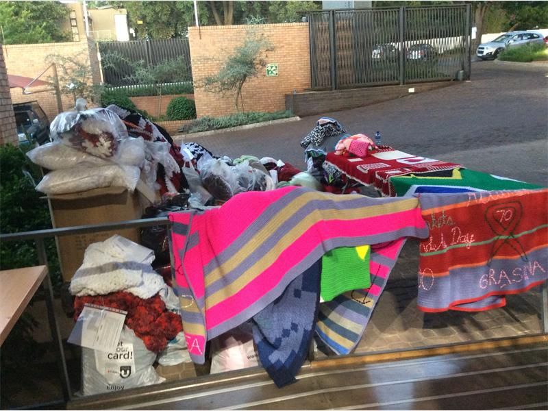 Knitting Blankets For Charity : Blankets releases charity anthem city buzz