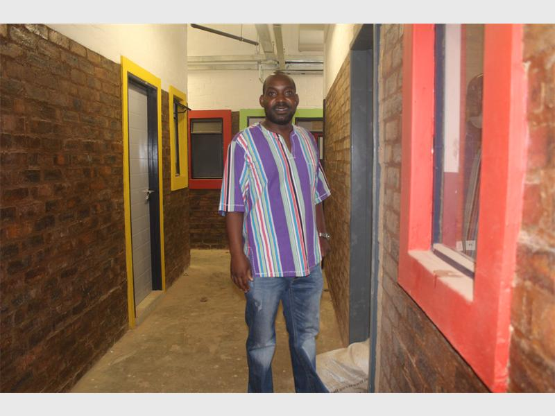 IN CHARGE: Solly Ramalamula, managing director of Take Shape Properties, rejuvenates the inner-city.