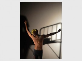 Photo: Evans Mathibe THROWBACK: Law of Bondage by Kwanele Finch Thusi, performed at Detours 2015.