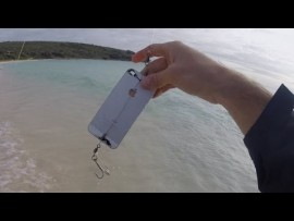 Wacky Wednesday: Fishing with an old iphone