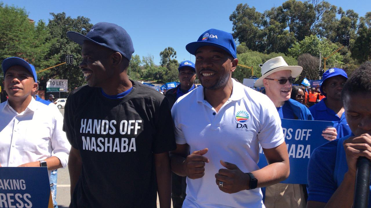DA members gather to support Herman Mashaba