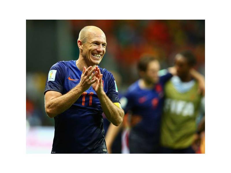Arjen Robben. Photo: www.independent.co.uk.
