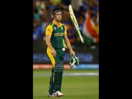 Captain AB de Villiers was the top scorer against Pakistan. *Photo: Cricket South Africa Facebook page