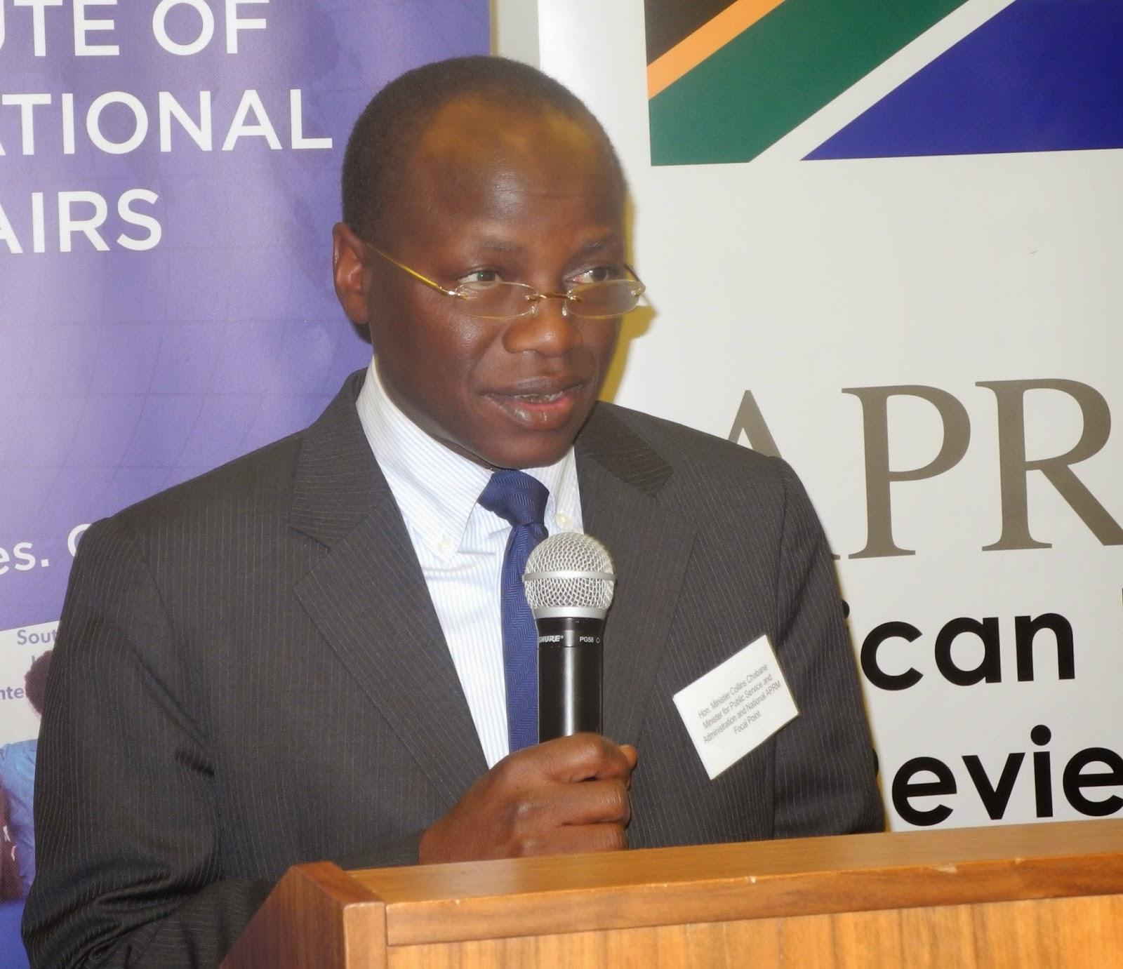 Minister Chabane