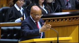 President Zuma jokes about Nkandla in Parliament