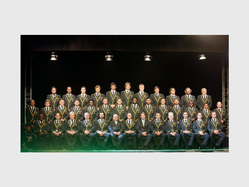 Springbok squad.