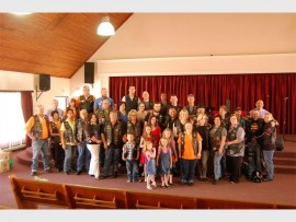 Enon Family Church recently hosted an outreach project with the Tainted Soul, East Rand Chapter and Silver Wing motorbike clubs.