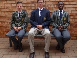 Savio Sardinha (left), Kevin Freel and ZaZa Mkize.