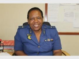 Lieut Col Elsie Mashinini is the new Station Commander for the Reiger Park SAPS.