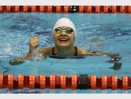 Star in the making: elite youth swimmer Carissa van Rooyen. (November)