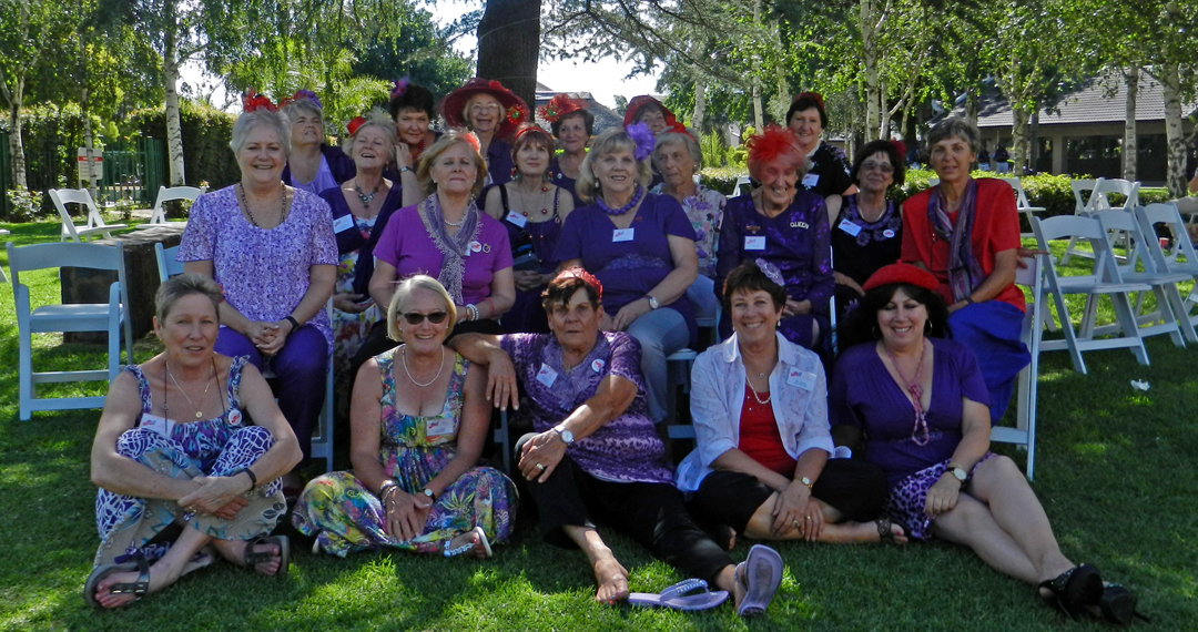 The Trinity Belles Red Hat Society had their Christmas lunch at the Birchwood Hotel, on December 10.