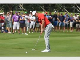 Rory McIlroy teed at the Glendower Golf Club.