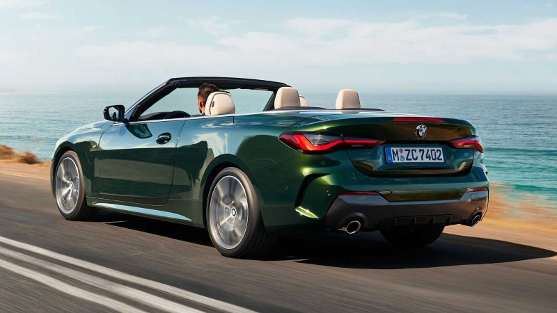 Ignore the 'massive' grille. Here's the all-new BMW 4 Series Convertible - Randburg Sun