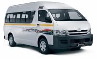 Toyota minibus taxi