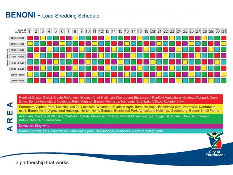 Eskom Load Shedding Schedule: Here Is Your Load Shedding Schedule