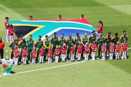 South African Cricket team. *Photo Cricket South Africa Facebook page