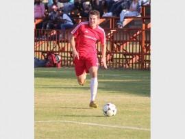 Stock image of Skyeler van der Berg, who scored the winner against Edenvale, on Saturday.