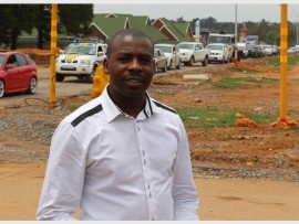Themba Gadebe, Ekurhuleni metro spokesperson.