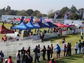 The scene of the Benoni Northerns Marathon.