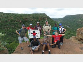 The students of the 3D Academy were taken on a hiking trail in Mpumalanga during initiation week, in January 2015.  They are, back (from left): Melissa Swanepoel (female team leader), Matsepho Maseko, Maggie Kaibe, Nikki Mackillican (3D campus co-ordinator), Ivan Sibeko and Nikita Govender. Front: Ed Eneyi, Julio Johnson (male team leader) and Allan Ruth.