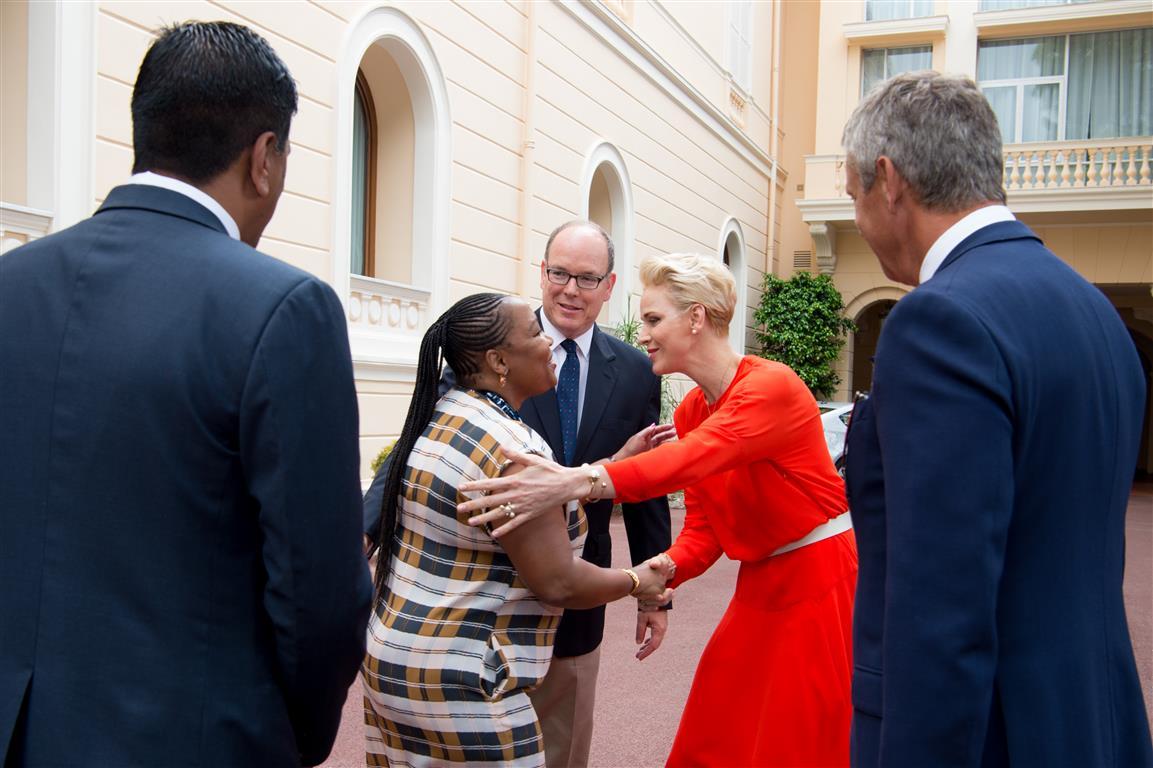 Princess Charlene Is Patron Of Sa Red Cross Benoni City Times
