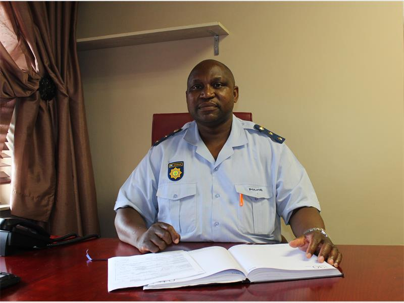 Col Stanley Nevhuhulwi is the new station commander at Actonville Police Station, he took over from the previous station commander Col Friedl Jonck.