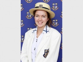 St Dunstan's learner Bronwyn Amy Pawson attained eight distinctions, in the 2016 Independent Examination Board (IEB) exams.
