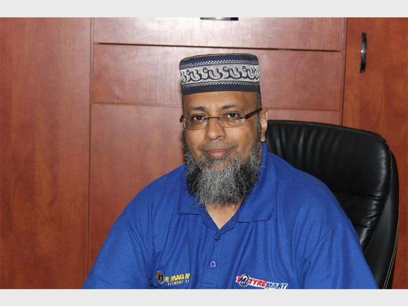 Muhammad Essop is the president of the Benoni Chamber of Commerce and Industries (BCCI).
