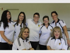 Teachers at Benoni High School joined to share some of their funny experiences, while teaching over the years. They are, standing (from left): Candace Kobrin, Christina Di Bartolomeo, Lizl Smith, Tarryn Finlay and Colleen Engles. Sitting: Bronwyn Morgan and Alison Knoop.