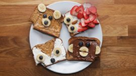 4 ways you can animate your toasted bread
