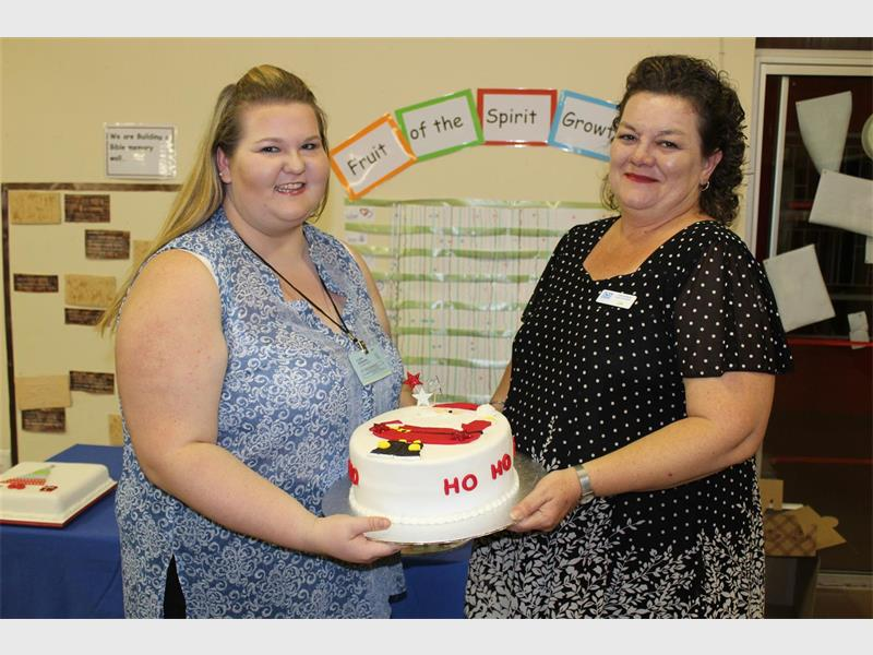 They baked a cake and donated it | Benoni City Times