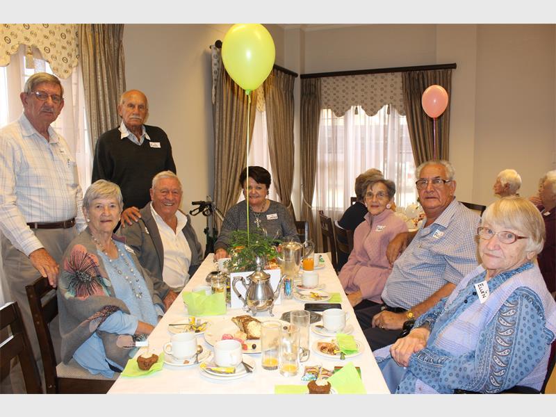 Retirement village celebrates residents' birthdays | Benoni