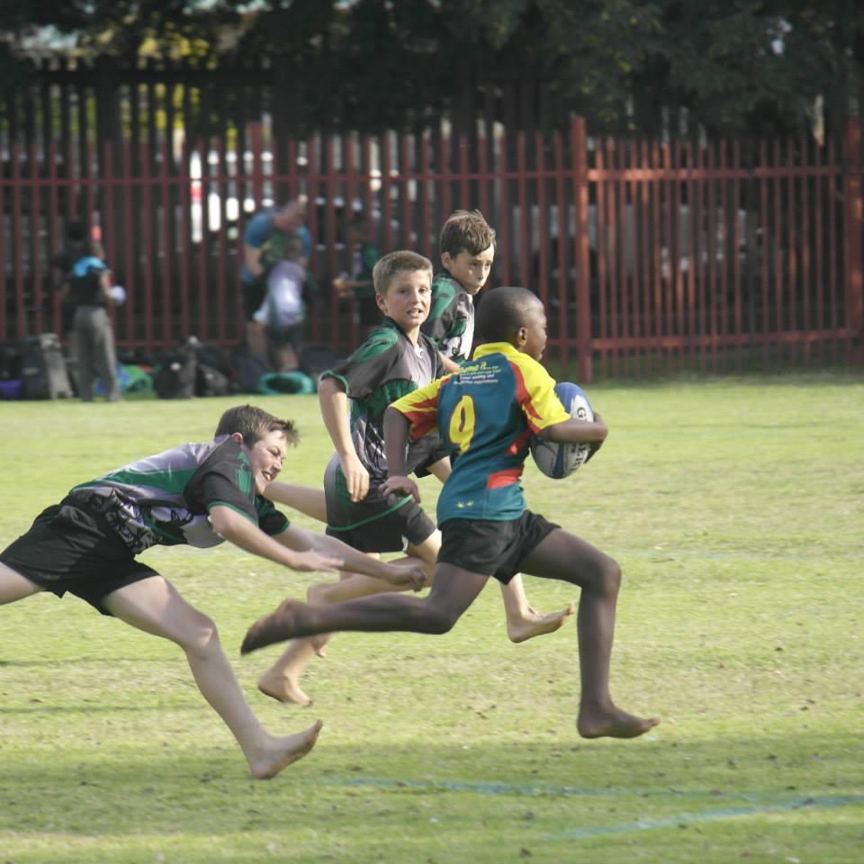 Laerskool Brakpan-Oos Rugby Wedstryde Teen Selcourt