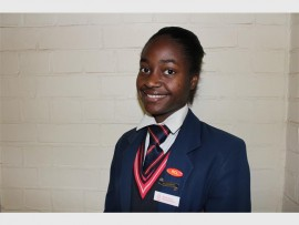Cecile Matabaro, a Grade 10 pupil from Brakpan High School, was elected as the Executive Mayor of the Ekurhuleni Junior Council.