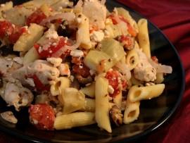 Greek Chicken Pasta (Medium)