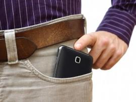 cellphone in pocket