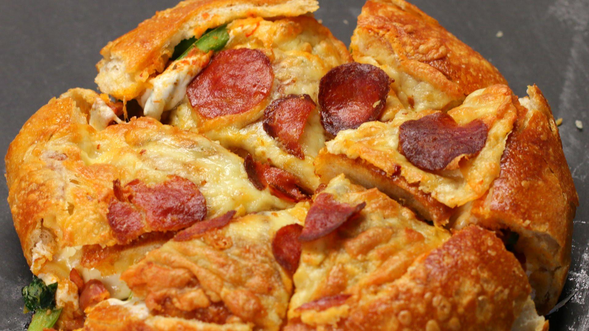 Pizza Bread Bowl