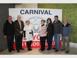 Die Pannefees komiteelede is (van links): Nico Grobbelaar, Johan Wolmarans, Martie Greyvensteyn, Esther van der Merwe, Gesina Griffin, Danie van der Westhuizen en Mike Bouwer.