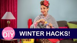 #SuzelleDIY Winter hacks