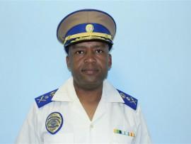 EMPD CHief of Police Bafana Mahlabe.