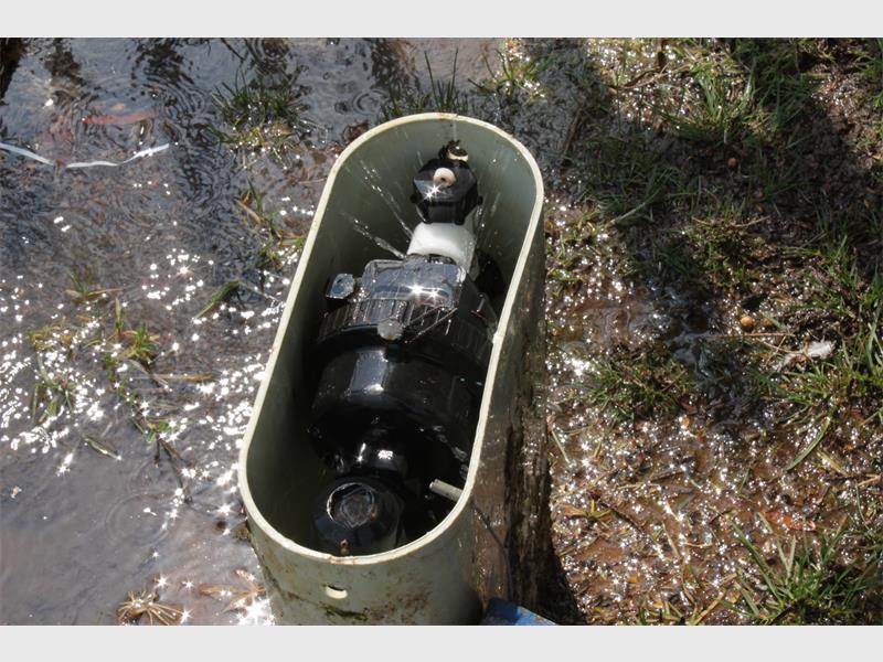how to fix water meter leak