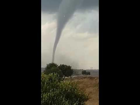 WATCH: Videos of a tornado tearing through Ekurhuleni